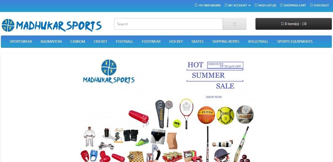 madhukar-sports